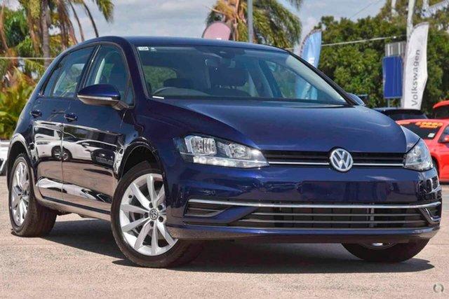 New Volkswagen Golf 7.5 MY20 110TSI DSG Comfortline, 2020 Volkswagen Golf 7.5 MY20 110TSI DSG Comfortline Blue 7 Speed Sports Automatic Dual Clutch