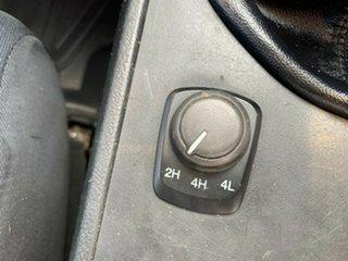 2011 Mazda BT-50 UP0YF1 XT White 6 Speed Manual Utility