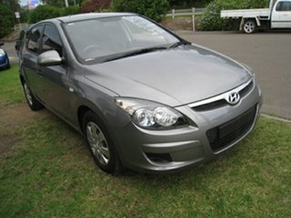 2011 Hyundai i30 FD MY11 SX 1.6 CRDi Silver 4 Speed Automatic Hatchback