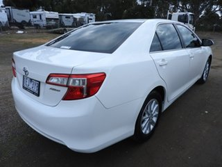 2015 Toyota Camry ALTISE White 5 Speed Automatic Sedan.