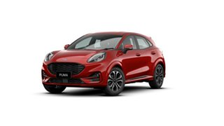 2020 Ford Puma ST-Line Lucid Red 7 Speed Sports Automatic Dual Clutch Wagon.