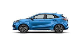 2020 Ford Puma JK 2020.75MY ST-Line Desert Island Blue 7 Speed Sports Automatic Dual Clutch Wagon.