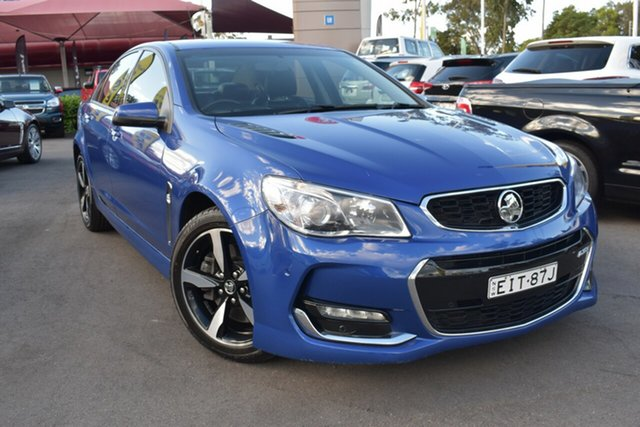 Used Holden Commodore VF II MY17 SS Tuggerah, 2017 Holden Commodore VF II MY17 SS Slipstream Blue 6 Speed Sports Automatic Sedan