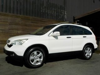 2008 Honda CR-V RE MY2007 Special Edition 4WD White 6 Speed Manual Wagon