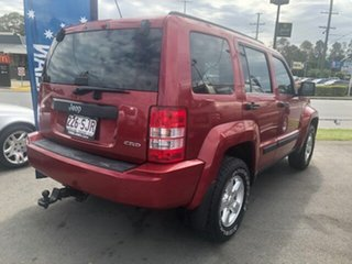 2008 Jeep Cherokee Red Automatic Wagon