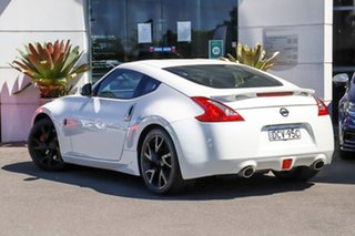 2014 Nissan 370Z Z34 MY14 White 7 Speed Sports Automatic Coupe.