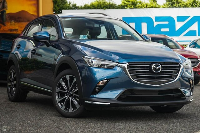 New Mazda CX-3 DK2W7A sTouring SKYACTIV-Drive FWD, 2020 Mazda CX-3 DK2W7A sTouring SKYACTIV-Drive FWD Blue 6 Speed Sports Automatic Wagon