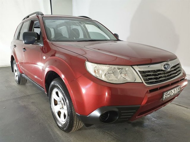 Used Subaru Forester S3 MY09 X AWD, 2008 Subaru Forester S3 MY09 X AWD Red 4 Speed Sports Automatic Wagon