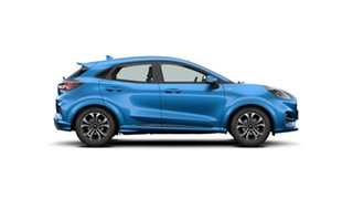 2020 Ford Puma JK 2020.75MY ST-Line Desert Island Blue 7 Speed Sports Automatic Dual Clutch Wagon