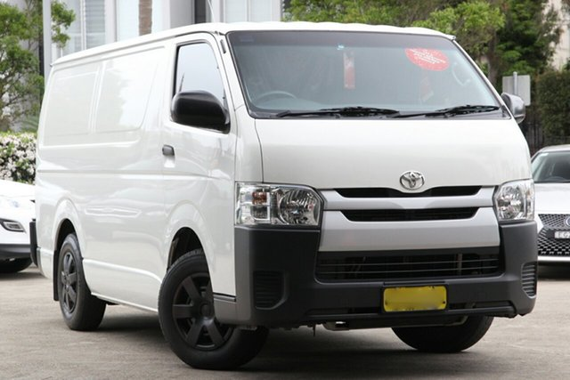 Used Toyota HiAce KDH201R MY15 LWB, 2015 Toyota HiAce KDH201R MY15 LWB French Vanilla 4 Speed Automatic Van