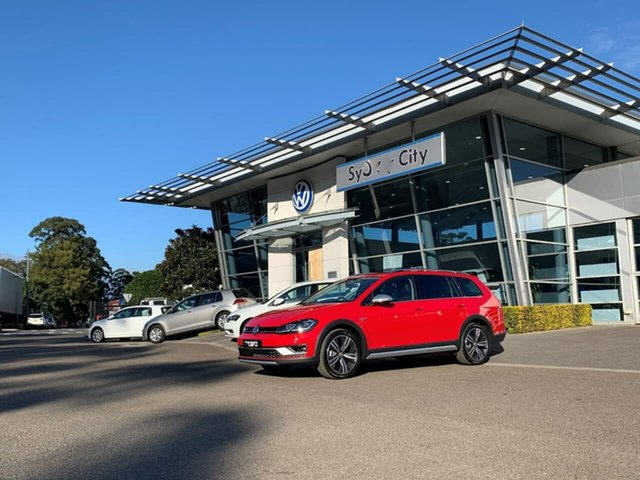 Demo Volkswagen Golf 7.5 MY20 Alltrack DSG 4MOTION 132TSI Premium, 2020 Volkswagen Golf 7.5 MY20 Alltrack DSG 4MOTION 132TSI Premium Red 6 Speed