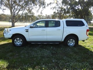 2017 Ford Ranger XLT White 6 Speed Automatic Utility