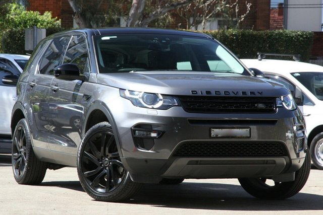 Used Land Rover Discovery Sport LC MY17 TD4 180 HSE 7 Seat, 2017 Land Rover Discovery Sport LC MY17 TD4 180 HSE 7 Seat Grey 9 Speed Automatic Wagon