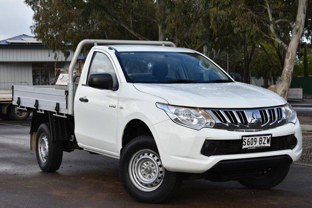 Used Mitsubishi Triton MN MY15 GL 4x2, 2015 Mitsubishi Triton MN MY15 GL 4x2 White 5 Speed Manual Cab Chassis