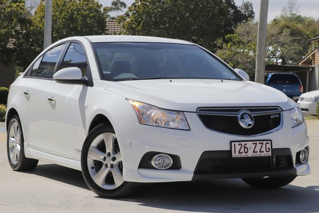 Used Holden Cruze JH Series II MY11 SRi-V, 2011 Holden Cruze JH Series II MY11 SRi-V White 6 Speed Manual Sedan