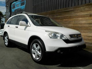 2008 Honda CR-V RE MY2007 Special Edition 4WD White 6 Speed Manual Wagon.