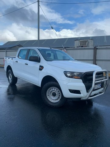 Used Ford Ranger PX MkII XL, 2017 Ford Ranger PX MkII XL White 6 Speed Sports Automatic Utility