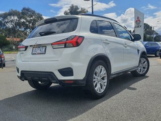 2019 Mitsubishi ASX XD MY20 LS 2WD White Solid 1 Speed Constant Variable Wagon