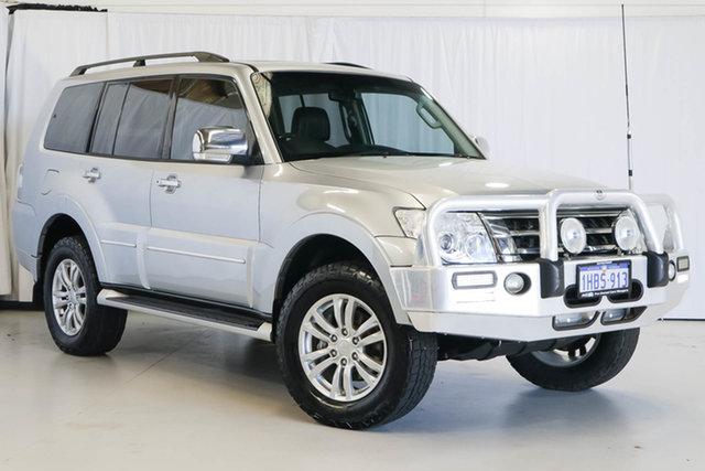 Used Mitsubishi Pajero NX MY15 Exceed, 2014 Mitsubishi Pajero NX MY15 Exceed Silver 5 Speed Sports Automatic Wagon