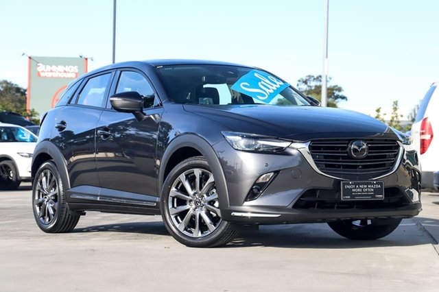 New Mazda CX-3 CX3E Akari LE (FWD) Kirrawee, 2020 Mazda CX-3 CX3E Akari LE (FWD) Machine Grey 6 Speed Automatic Wagon