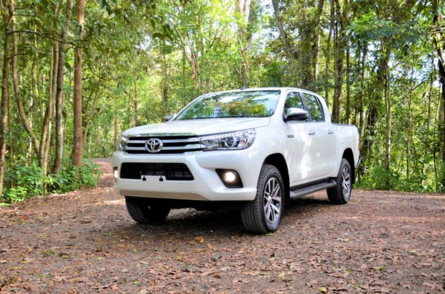 Demo Toyota Hilux  , 2020 Toyota Hilux High Spec White Automatic Dual Cab