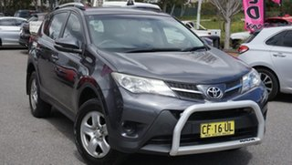 2015 Toyota RAV4 ZSA42R MY14 GX 2WD Grey 7 Speed Constant Variable Wagon.