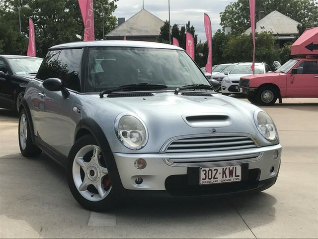 Used Mini Hatch R53 Cooper S Toowoomba, 2002 Mini Hatch R53 Cooper S Silver 6 Speed Manual Hatchback