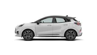 2020 Ford Puma ST-Line White 7 Speed Sports Automatic Dual Clutch Wagon.