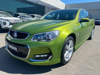 2016 Holden Commodore VF II MY16 SV6 Sportwagon Green 6 Speed Sports Automatic Wagon.