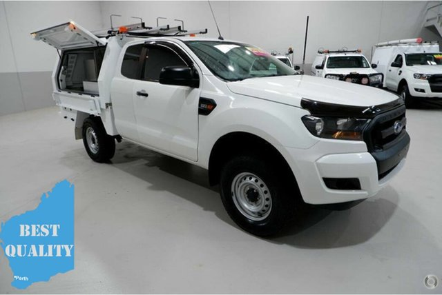 Used Ford Ranger PX MkII XL Hi-Rider, 2017 Ford Ranger PX MkII XL Hi-Rider White 6 Speed Sports Automatic Cab Chassis
