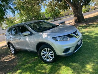 2014 Nissan X-Trail T32 ST X-tronic 2WD Brilliant Silver 7 Speed Constant Variable Wagon.
