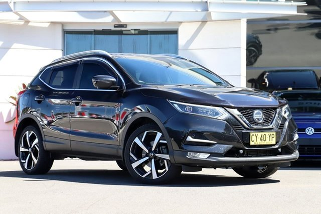 Used Nissan Qashqai J11 Series 2 Ti X-tronic, 2018 Nissan Qashqai J11 Series 2 Ti X-tronic Black 1 Speed Constant Variable Wagon