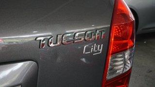 2008 Hyundai Tucson JM MY07 City SX Grey 4 Speed Sports Automatic Wagon