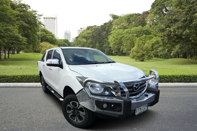 Used Mazda BT-50 UR0YG1 GT+, 2019 Mazda BT-50 UR0YG1 GT+ White 6 Speed Sports Automatic Utility