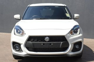 2021 Suzuki Swift AZ Series II Sport Pure White 6 Speed Sports Automatic Hatchback