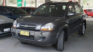 2008 Hyundai Tucson JM MY07 City SX Grey 4 Speed Sports Automatic Wagon.