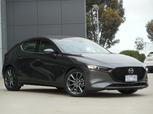 Used Mazda 3 BP2H7A G20 SKYACTIV-Drive Touring, 2020 Mazda 3 BP2H7A G20 SKYACTIV-Drive Touring Grey 6 Speed Sports Automatic Hatchback