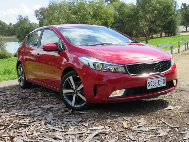 Used Kia Cerato YD MY18 Sport, 2017 Kia Cerato YD MY18 Sport Red 6 Speed Sports Automatic Hatchback