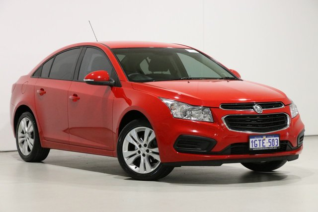 Used Holden Cruze JH MY15 Equipe, 2015 Holden Cruze JH MY15 Equipe Red 6 Speed Automatic Sedan