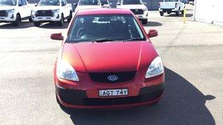 2006 Kia Rio JB Red 4 Speed Automatic Sedan.
