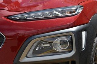 2020 Hyundai Kona OS.3 MY20 Highlander 2WD Pulse Red 6 Speed Sports Automatic Wagon.