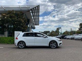 2020 Volkswagen Golf 7.5 MY20 110TSI DSG Highline White 7 Speed Sports Automatic Dual Clutch.