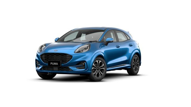 New Ford Puma JK 2020.75MY ST-Line DCT, 2020 Ford Puma JK 2020.75MY ST-Line DCT Desert Island Blue 7 Speed Sports Automatic Dual Clutch