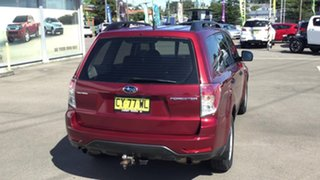 2011 Subaru Forester S3 MY11 X AWD Red 4 Speed Sports Automatic Wagon