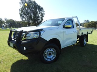 2020 Nissan Navara RX White 6 Speed Manual Cab Chassis.