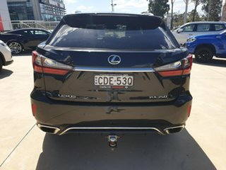 2018 Lexus RX GGL25R RX350 F Sport Black 8 Speed Sports Automatic Wagon