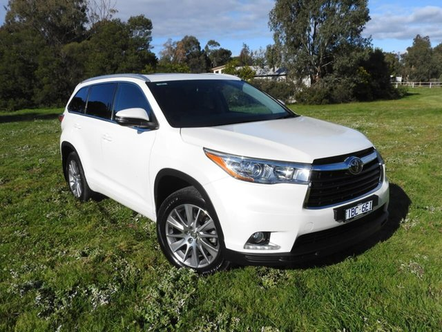 Used Toyota Kluger  , 2014 Toyota Kluger GRANDE White 6 Speed Automatic Wagon