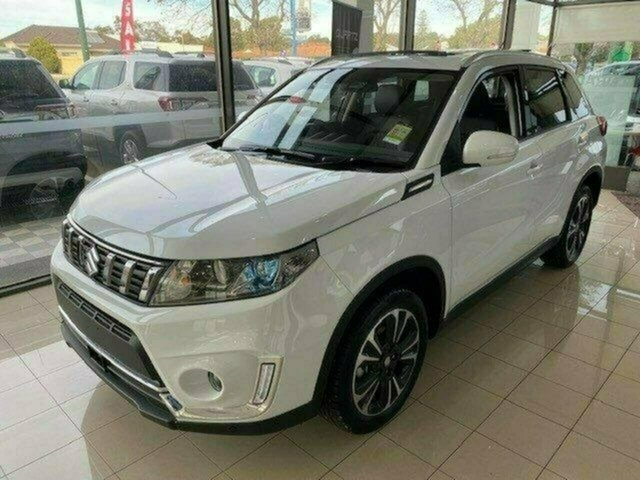 New Suzuki Vitara LY Series II Turbo 4WD, 2020 Suzuki Vitara LY Series II Turbo 4WD Cool White 6 Speed Sports Automatic Wagon