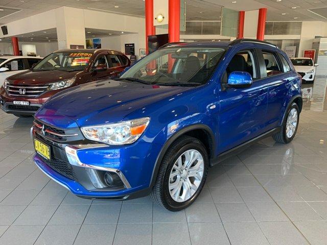 Used Mitsubishi ASX XC MY19 ES 2WD, 2019 Mitsubishi ASX XC MY19 ES 2WD Blue 1 Speed Constant Variable Wagon