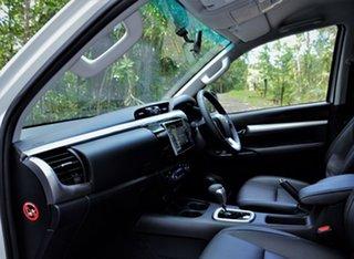 2020 Toyota Hilux High Spec White Automatic Dual Cab